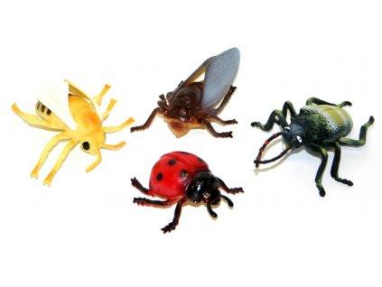 Hmyz/ insekt 4 ks v sáčku