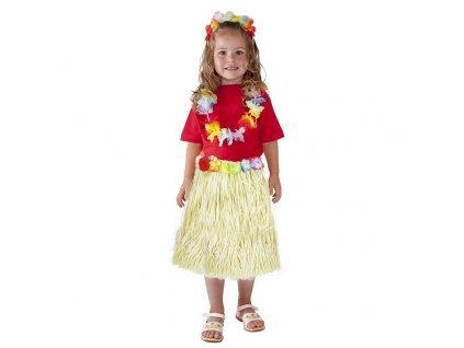 Dětská sukně Hawaii 45 cm