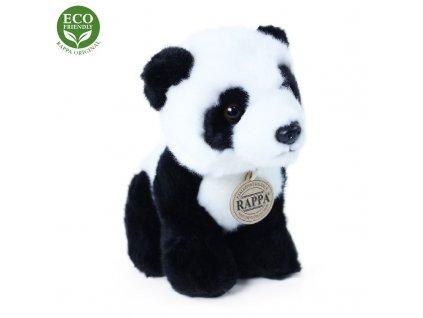 Plyšová panda sedící 18 cm ECO-FRIENDLY