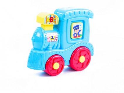 BABY lokomotiva se zvukem a světlem
