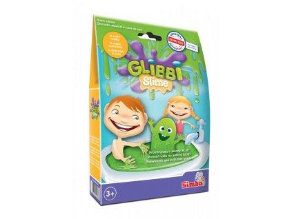 Glibbi Slime Sliz do vany - zelený