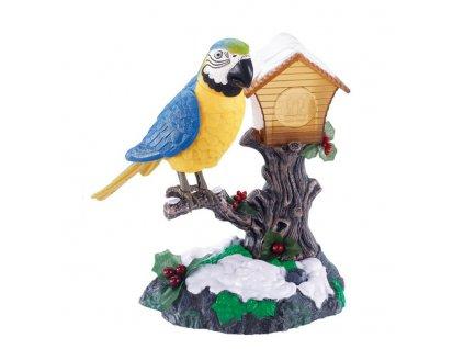 Zpívající pták s pohybem