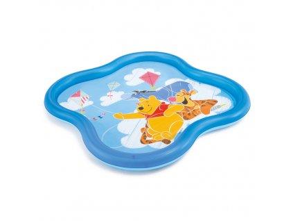 Nafukovací bazén Medvídek Pú se sprškou 140 x 140 x 10 cm