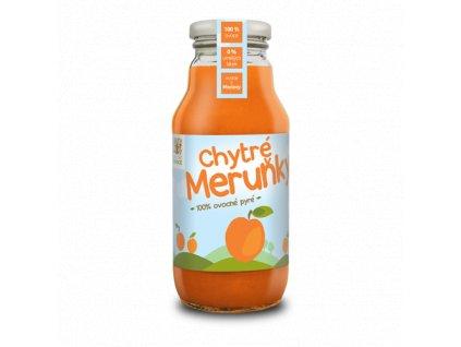 Chytré meruňky - 100% ovocné pyré 350g