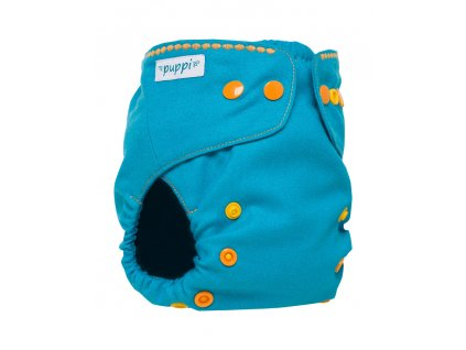 """PUPPI """"Ocean Treasures"""" Merino Wool Cover OS+ - zapínání cvočky 9-18 kg"""