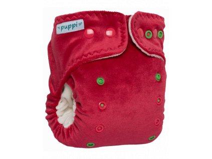 """PUPPI Kalhotková plena """"Pink Blush"""" - zapínání cvočky 6-15 kg"""