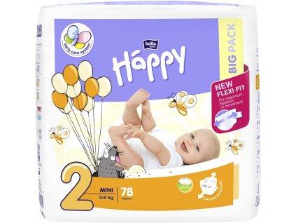 Bella Baby Happy Mini Big Pack 78 ks