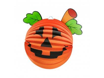Lampion Halloween - dýně 25 cm