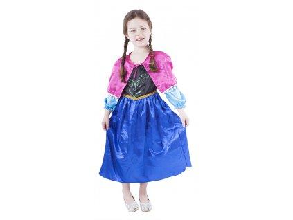 Dětský kostým princezna zimní království (M)