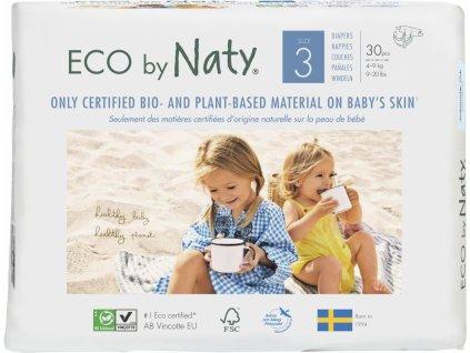 Naty ECO Ekoplenky 3 Midi 4-9kg 30 ks