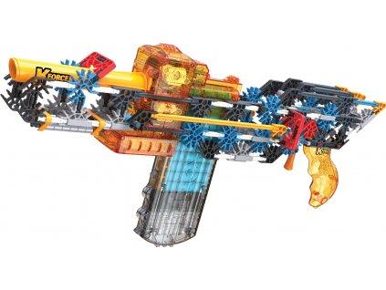 K NEX - Stavebnice pistole motorizovaná Flash Fire Blaster. 288 dílků