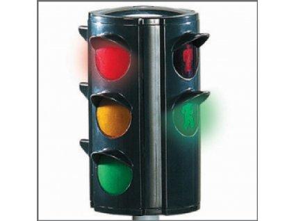 BIG semafor s automat. přepínáním světel