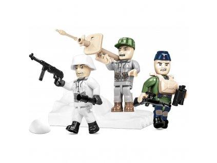 Figurky s doplňky German Elite Infantry, 30 k