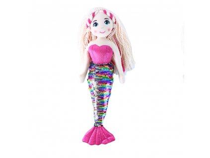Hadrová panenka mořská panna Šupinka 45 cm