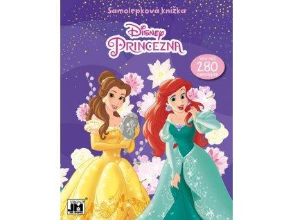 Knížka samolepková Disney Princezny