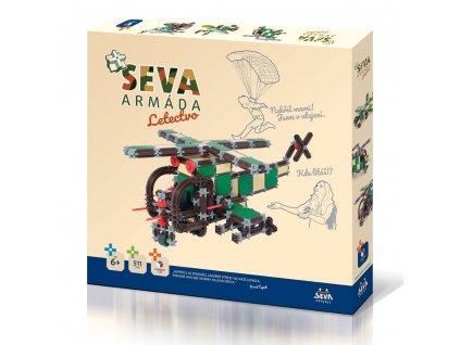 Stavebnice SEVA ARMÁDA - Letectvo