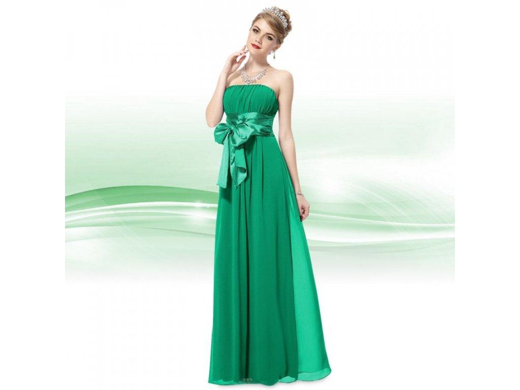 dlouhe zelene spolecenske saty nancy xs