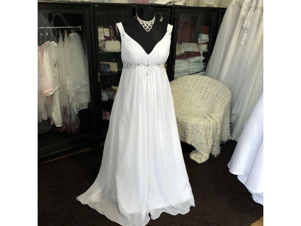 antické boho svatební šaty Lisbeth
