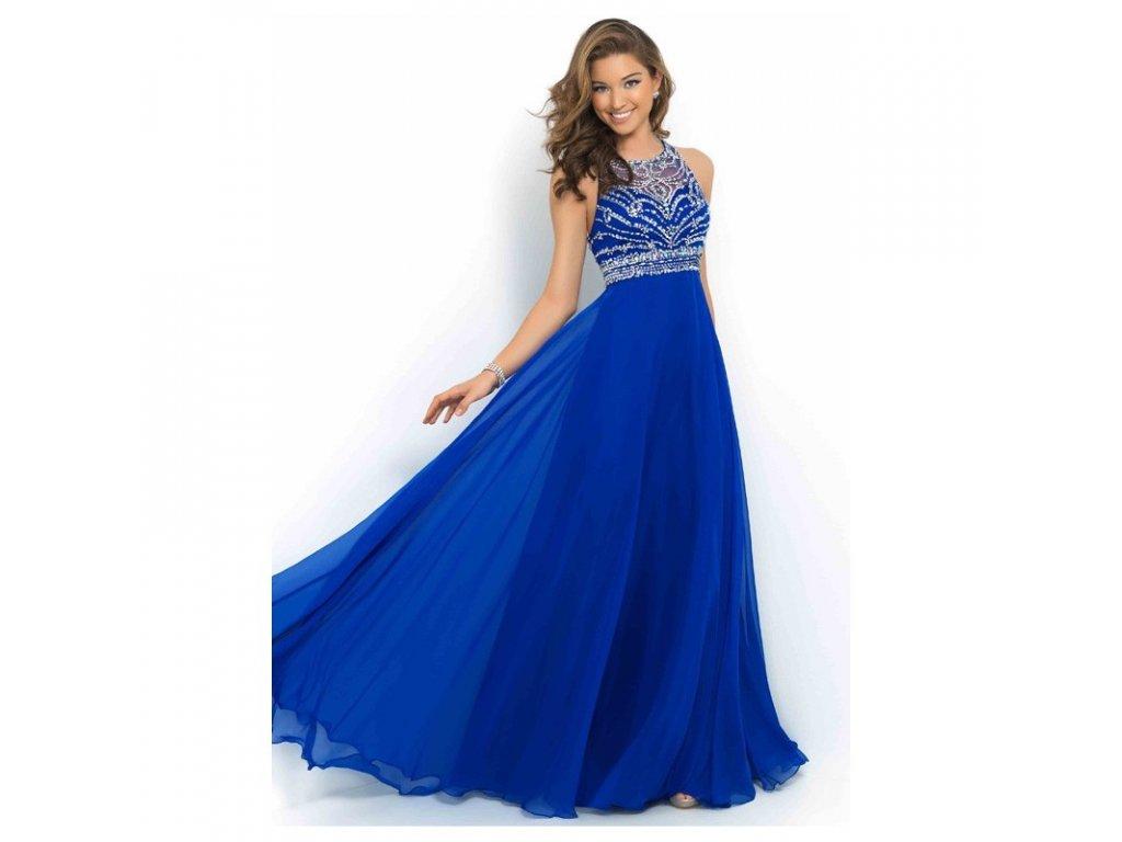 namornicky modre plesove spolecenske saty na maturitni ples drusila xxs xs