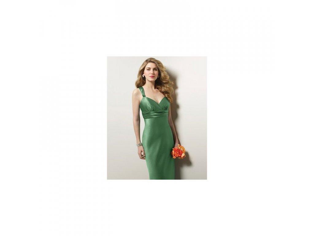 luxusni zelene spolecenske saty alfred angelo originalni model 7071 velikost l