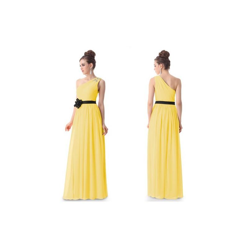 luxusní žluté společenské nebo svatební šaty Flower Barva: Žlutá, Velikost: S