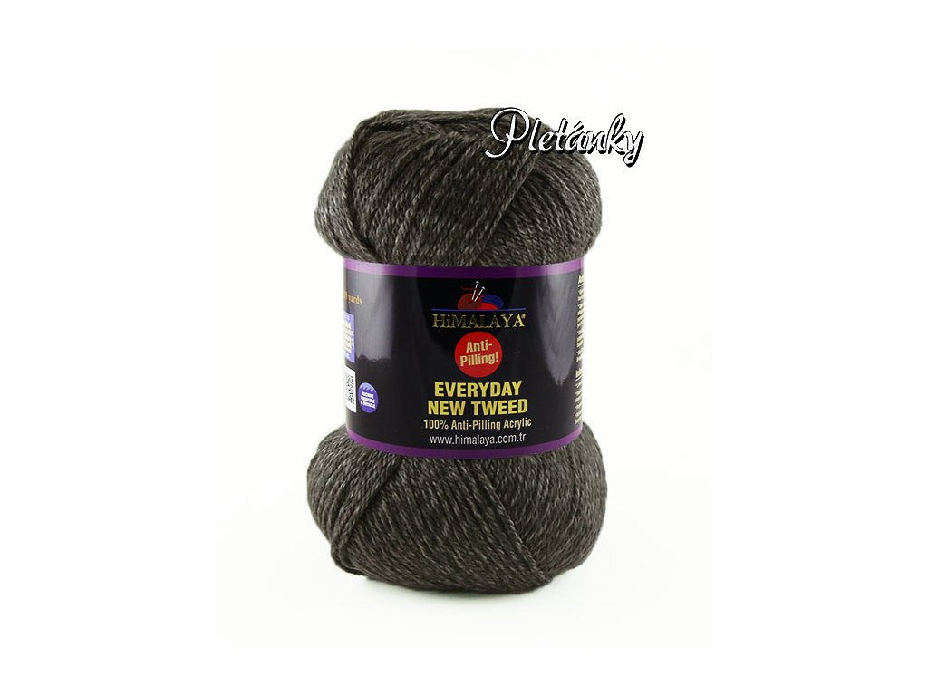 Příze Everyday New Tweed 75116 - tmavě šedá