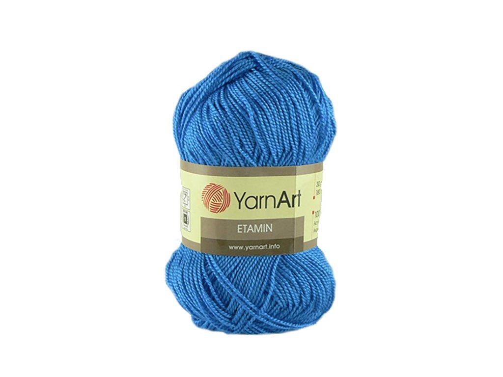 Etamin 462 - modrá