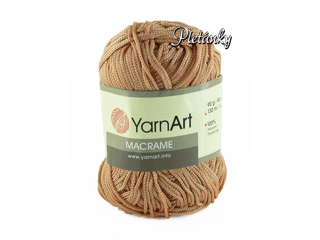 Macrame 131 - kakaová