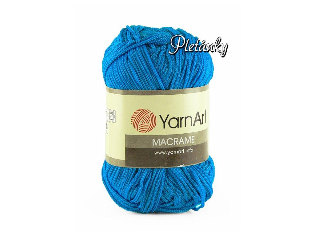 Macrame 139 - sytá modrá