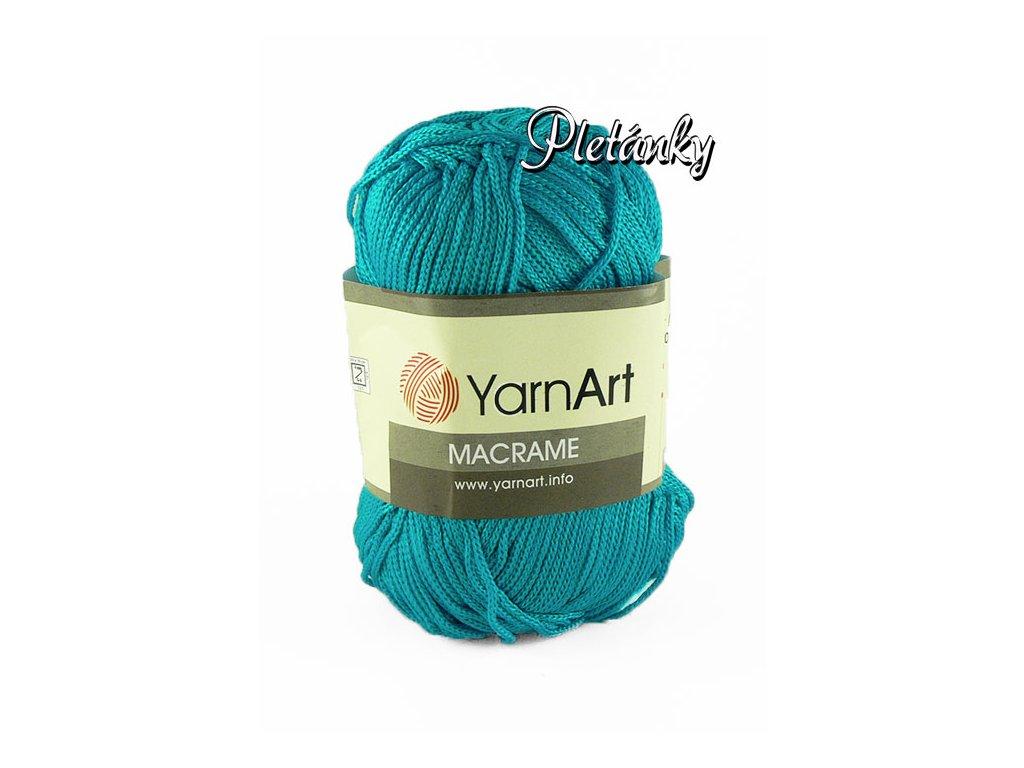 Macrame 152 - tyrkysová