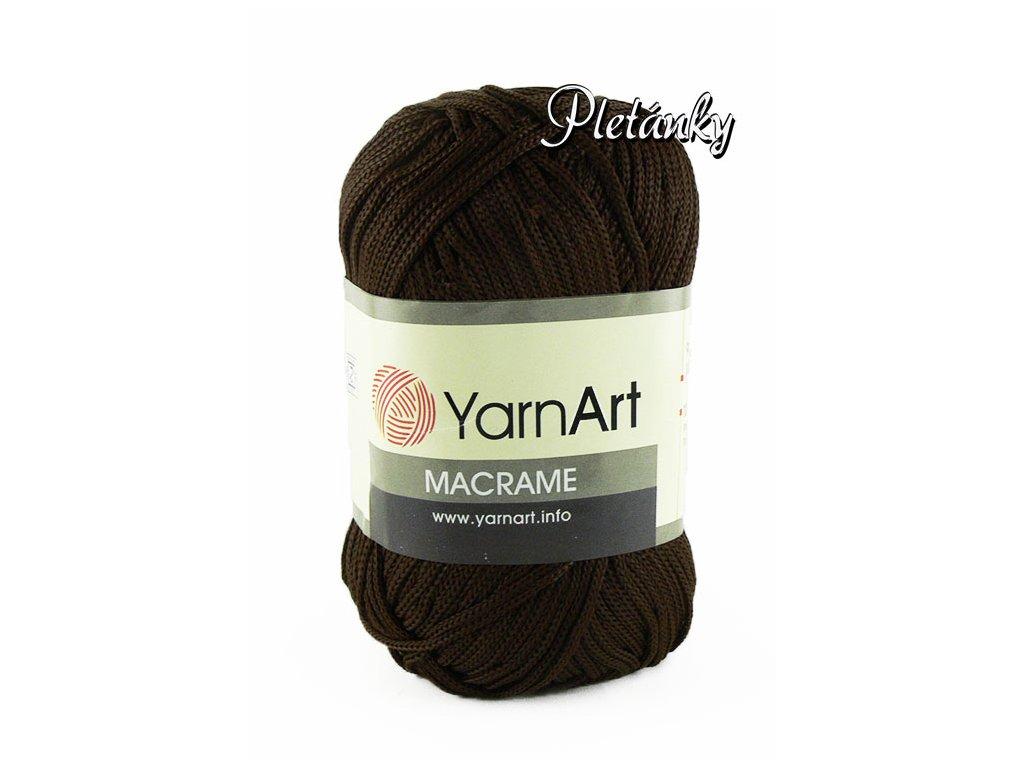 Macrame 157 - tmavě hnědá