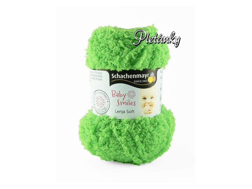 Příze Baby Smiles Lenja Soft 1072 - světle zelená