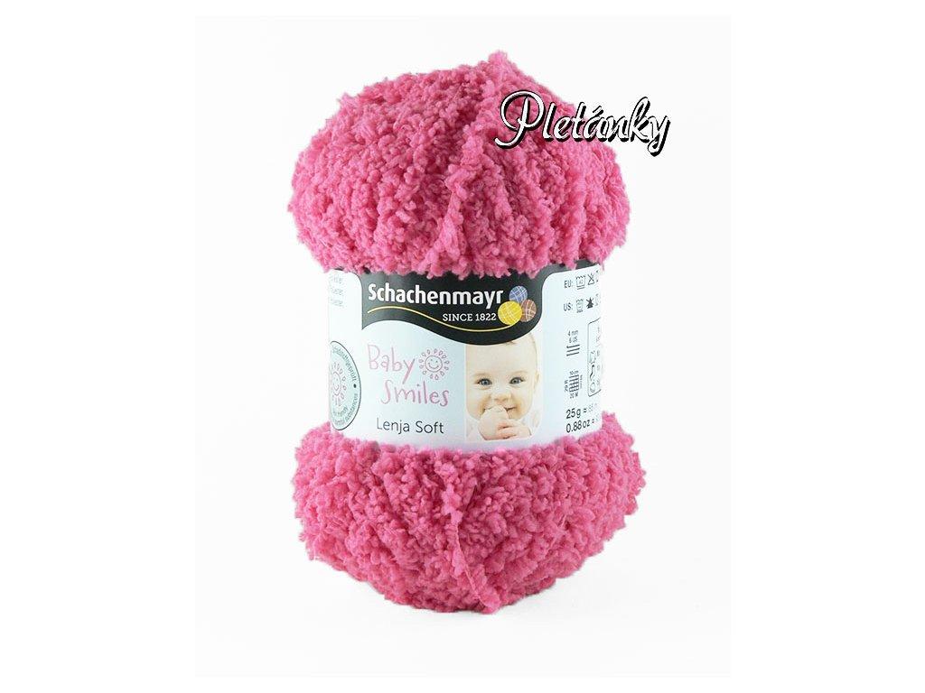 Příze Baby Smiles Lenja Soft 1036 - růžová