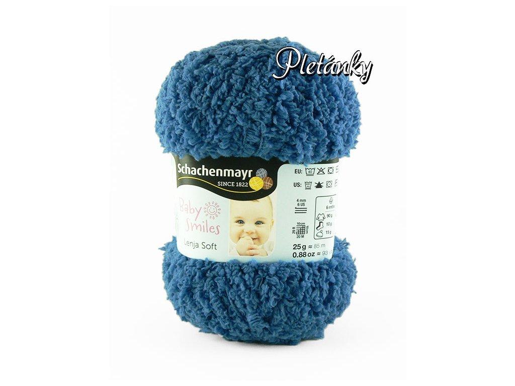 Příze Baby Smiles Lenja Soft 1052 - modrá
