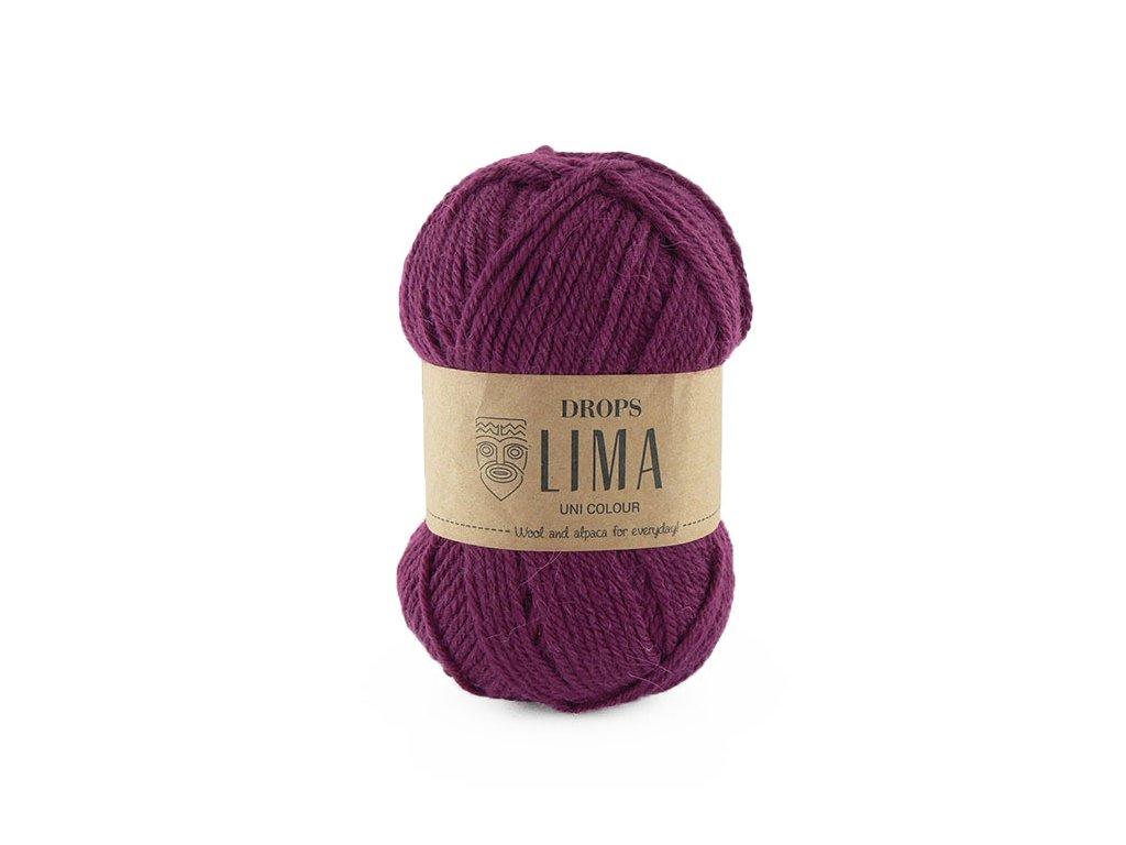 Příze DROPS Lima uni colour - 5820 vínová