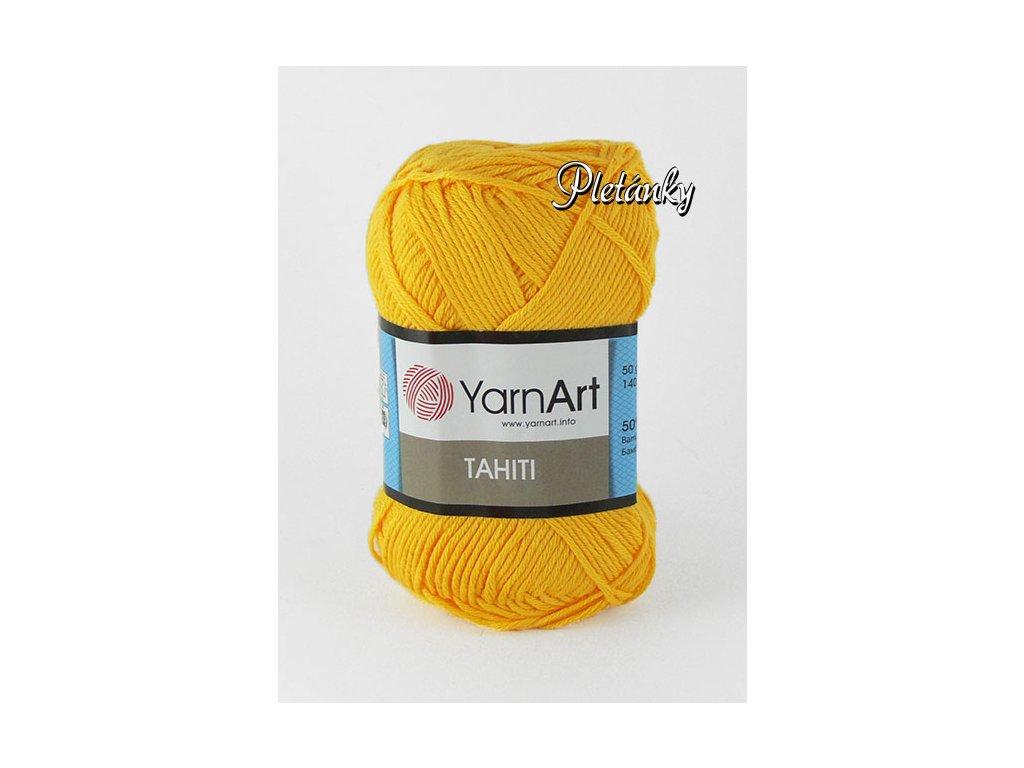 Příze Tahiti 220 - žlutá