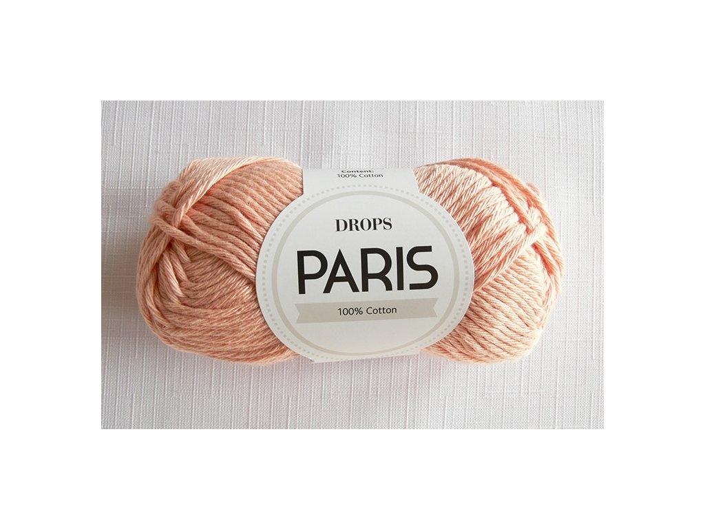 Příze Drops Paris 27 (3389)- broskvová