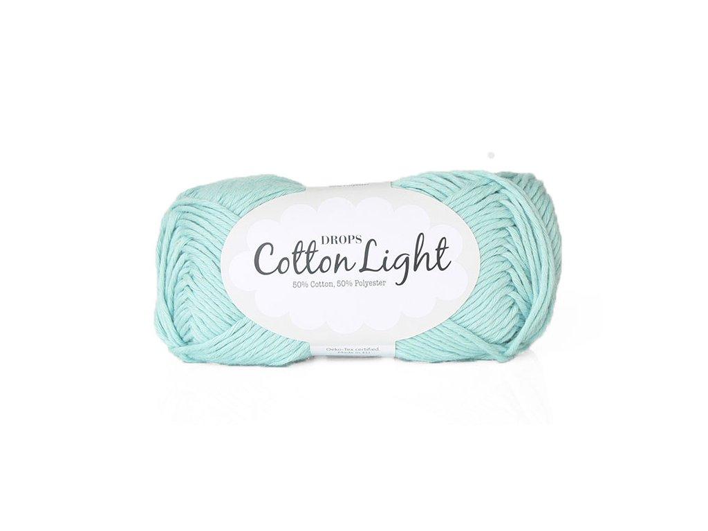 Příze DROPS Cotton light 27 - mátová