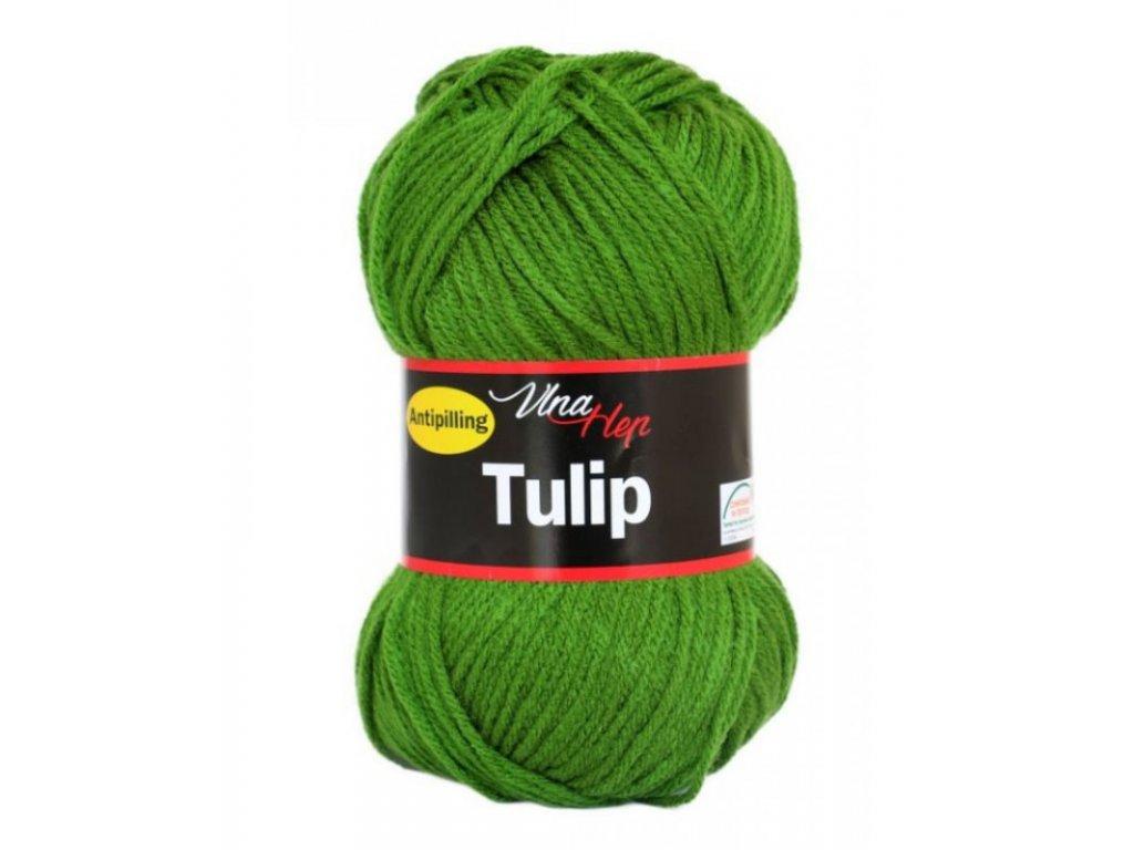 Příze Tulip 4456 - trávová zelená