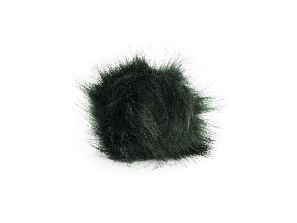 Bambule 15 cm - 14 temně zelená