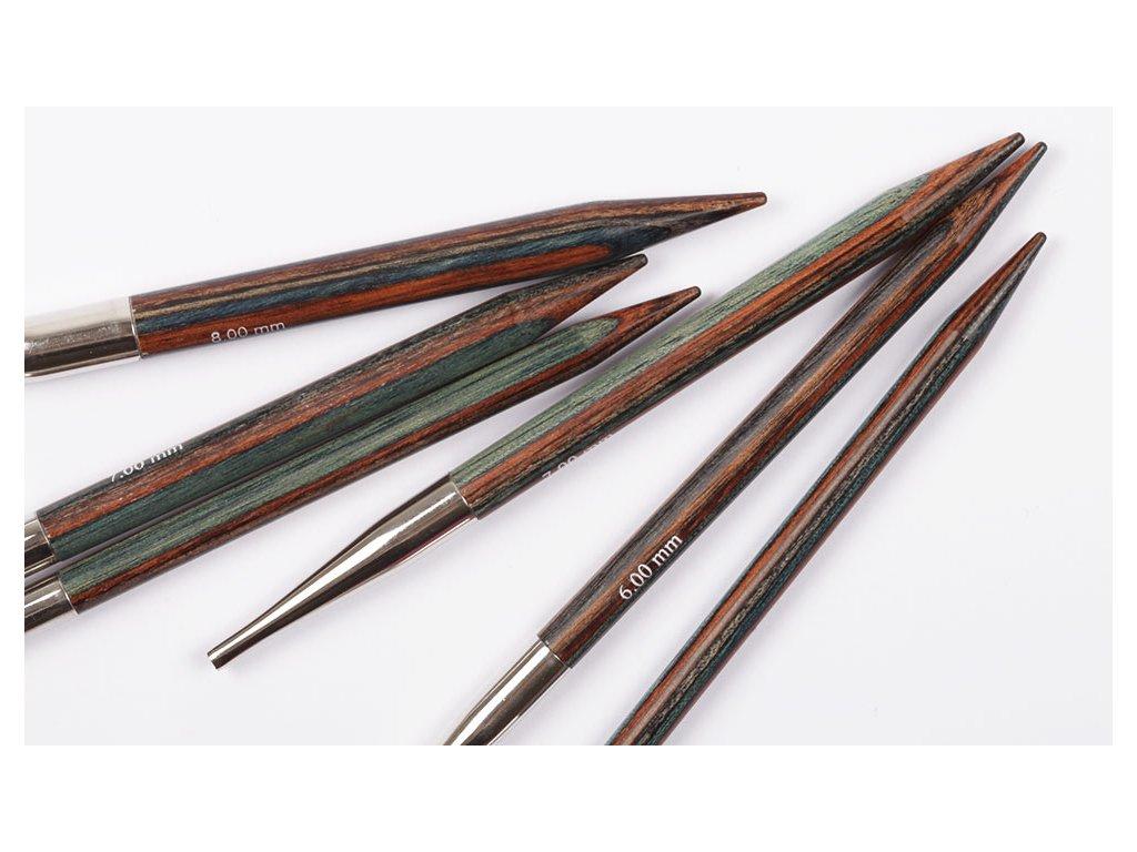 Jehlice kruhové výměnné DROPS Pro Romance (Birch) - 4,5 mm / 13 cm