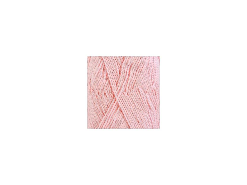 Příze DROPS BabyAlpaca Silk uni color 3125 - světlá růžová