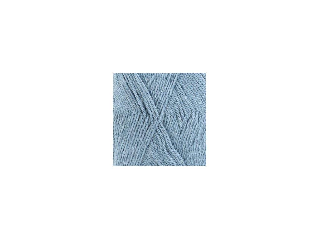Příze DROPS BabyAlpaca Silk uni color 6235 -  šedomodrá