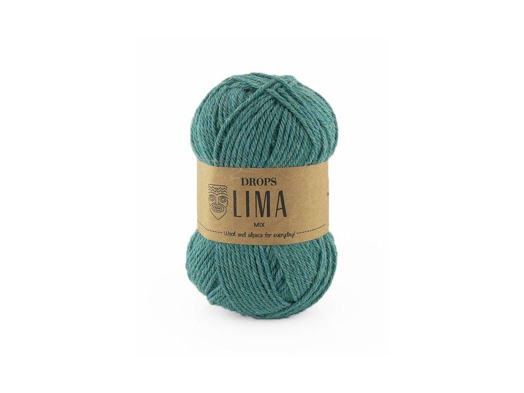 Příze DROPS Lima mix - 9018 zelené moře