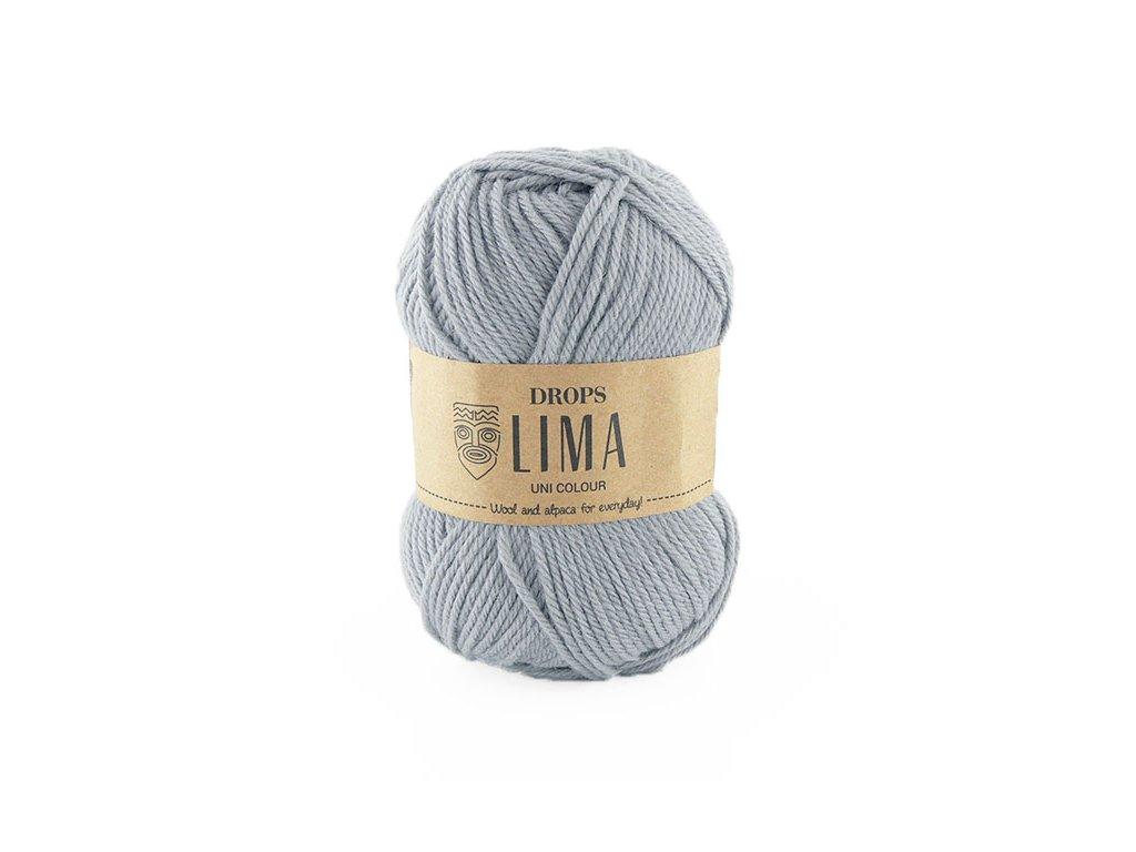 Příze DROPS Lima uni colour - 9010 světlá šedá