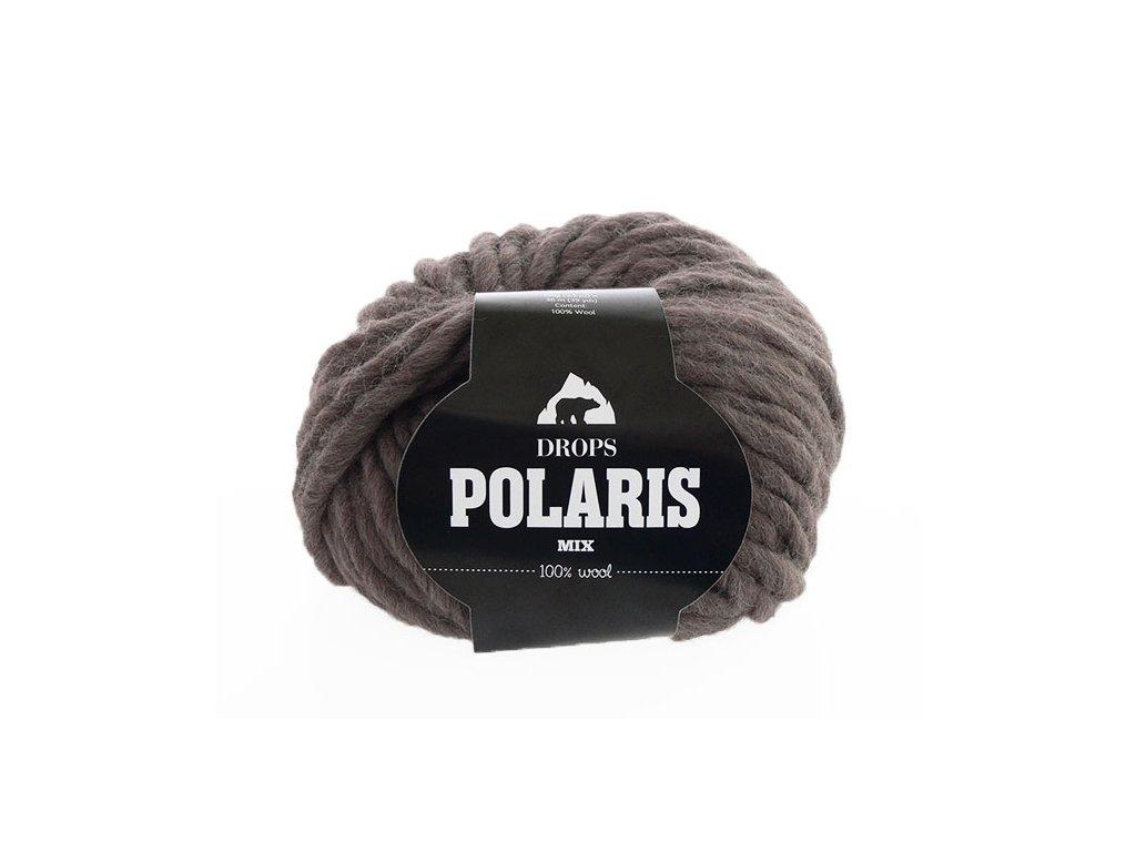 Příze DROPS Polaris mix 05 - hnědá