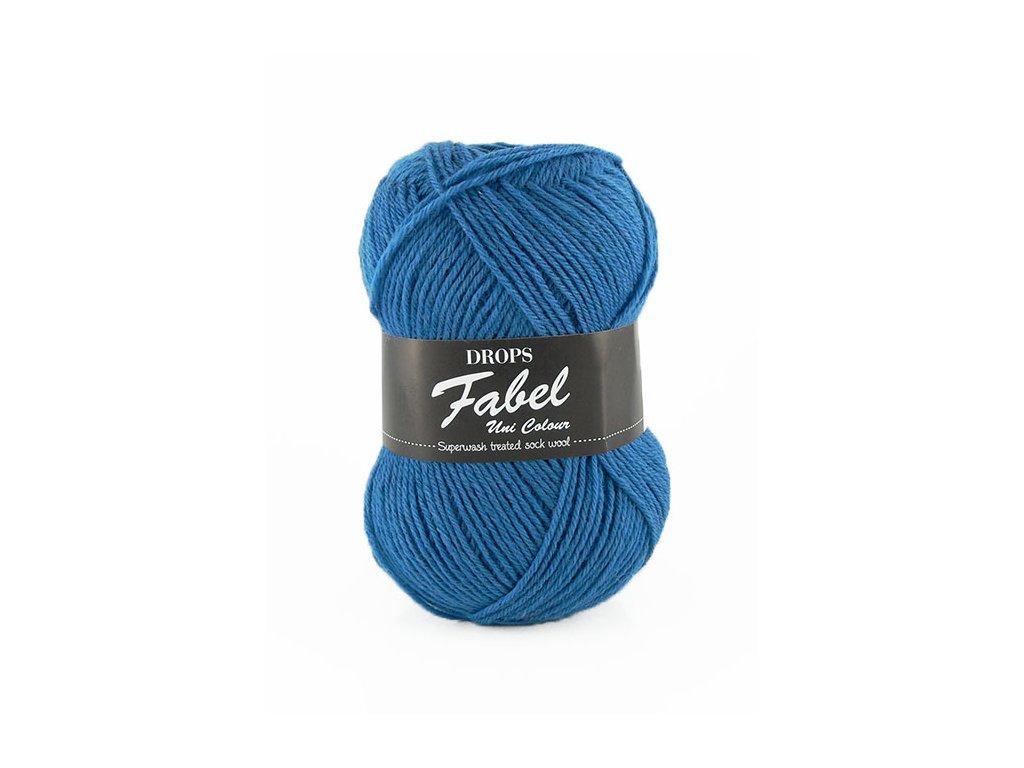 Příze DROPS Fabel Unicolor 108 - královská modrá
