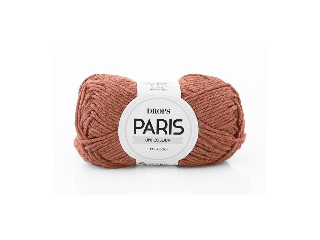 Příze Drops Paris 65 - rezavá