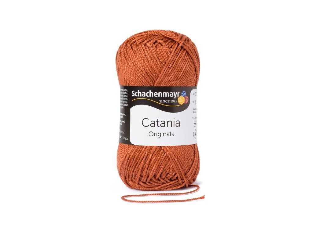 Příze Catania 426 - rezavá