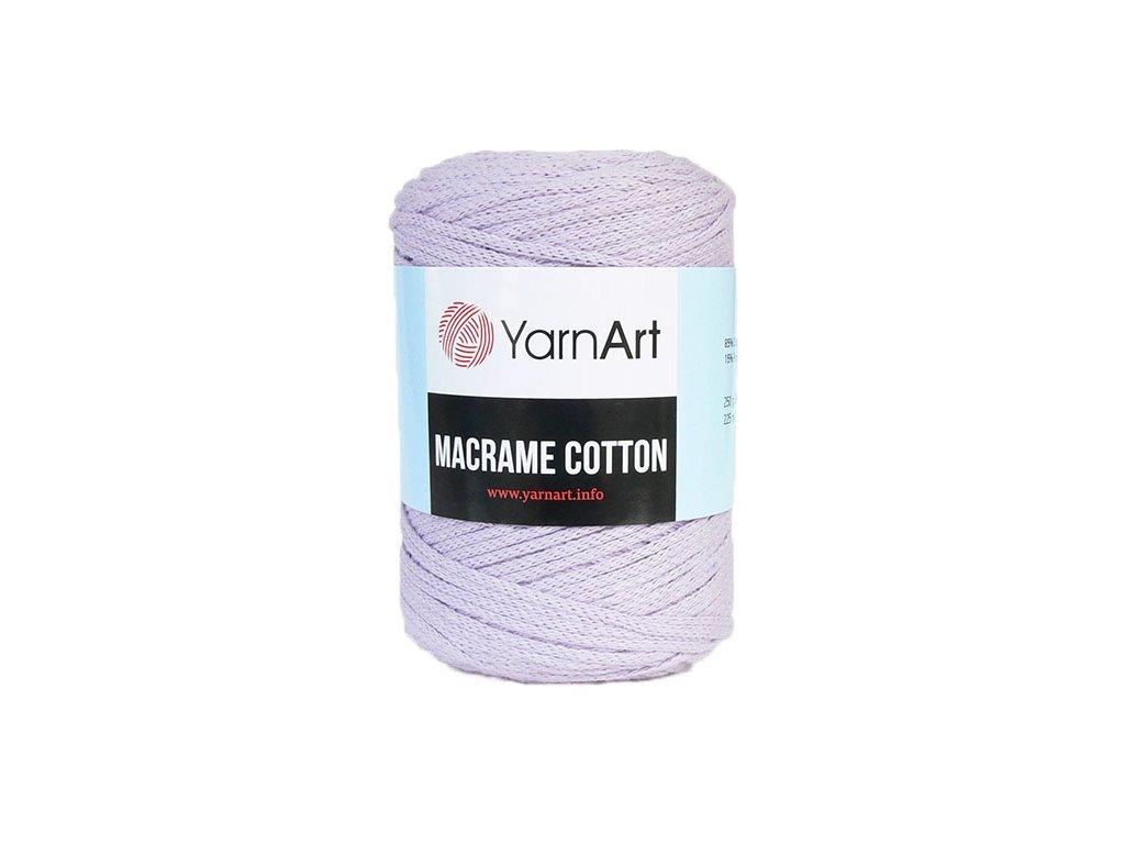 Příze Macrame Cotton 765 - světlá fialová